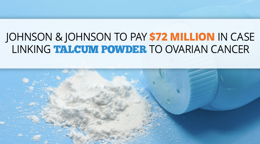 Johnson Amp Johnson Baby Powder Ovarian Cancer Lawsuits